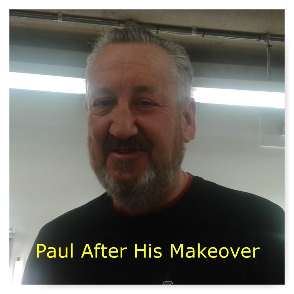 eggheads paul after makeover