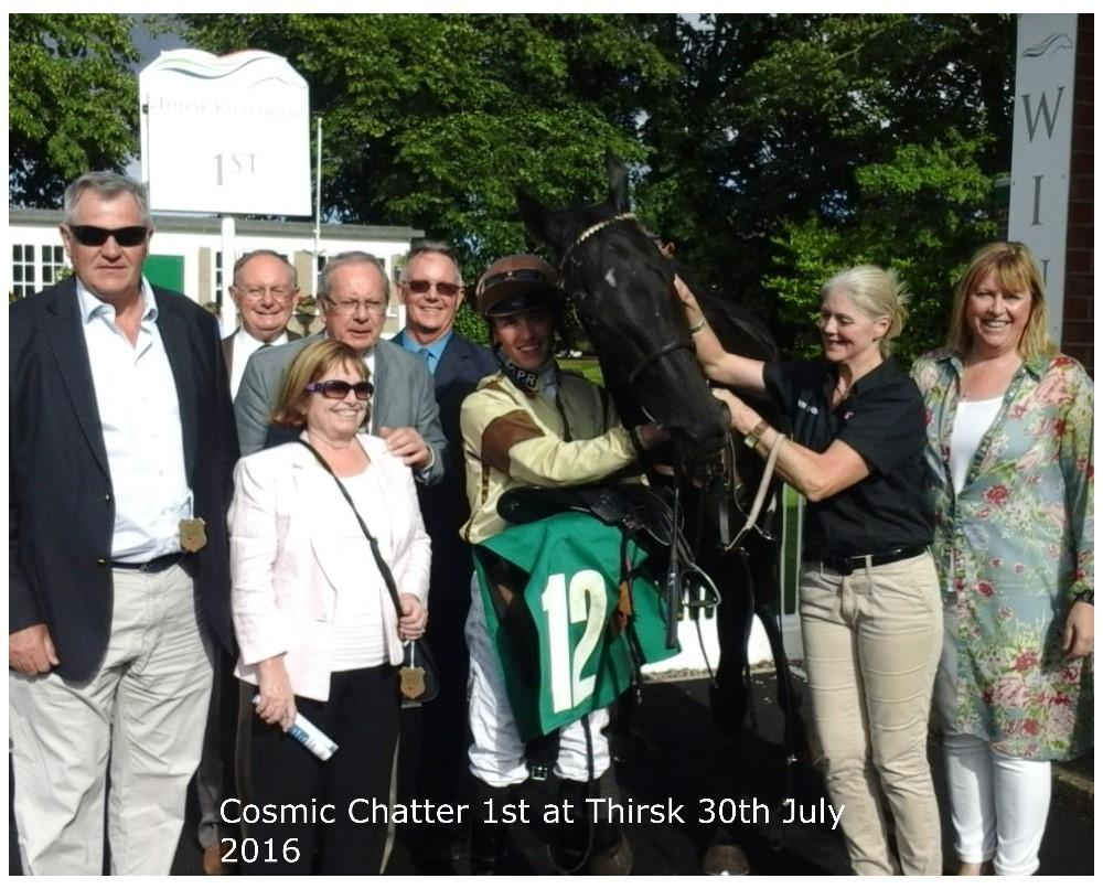 cosmic chatter thirsk 30th july